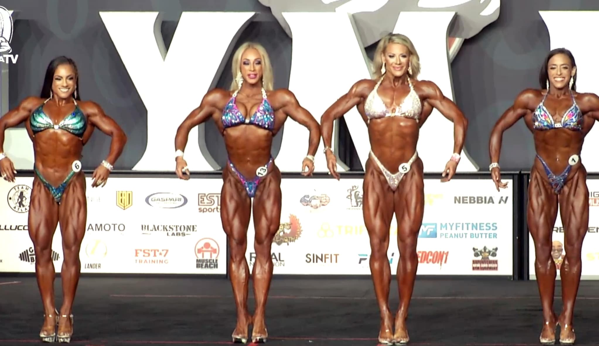 Fitness Olympia Callouts Top 4