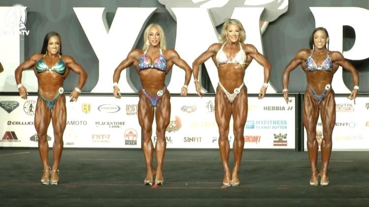 Fitness Olympia Prejudging
