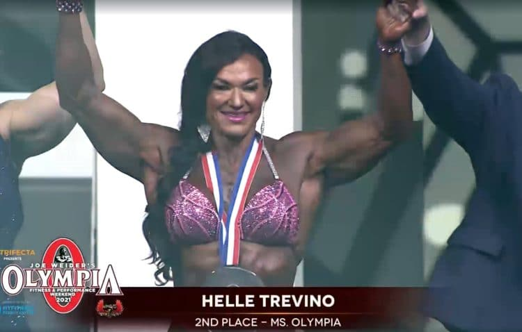 Helle Trevino Ms. Olympia