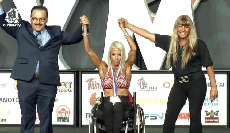 Jen Pasky Jaquin Wheelchair Olympia
