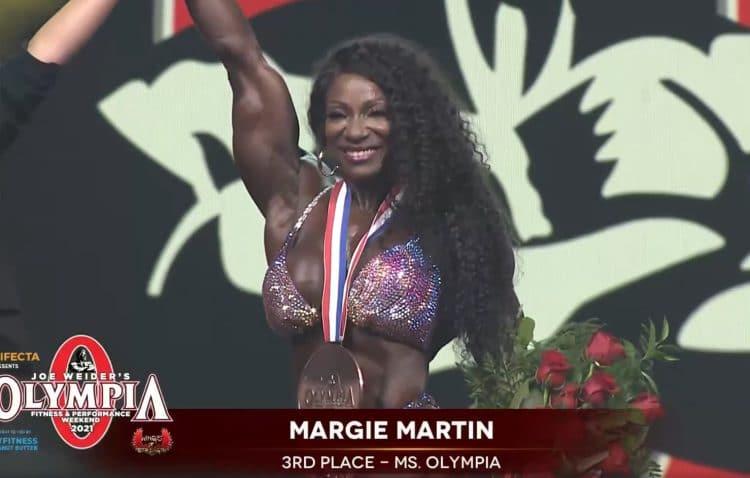 Margie Martin Ms. Olympia