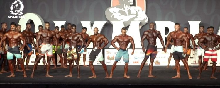 Mens Physique Olympia 1st Callout