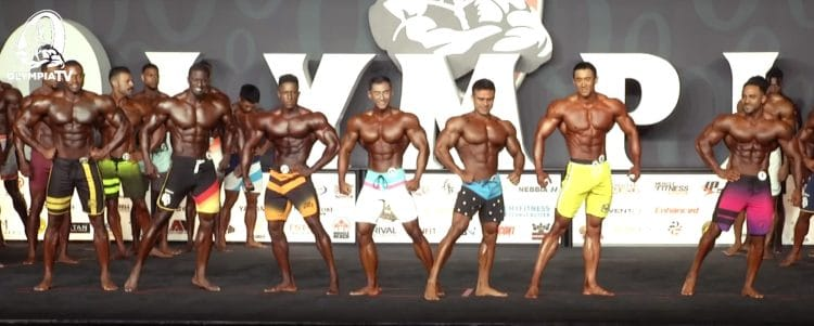 Mens Physique Olympia 3rd Callout