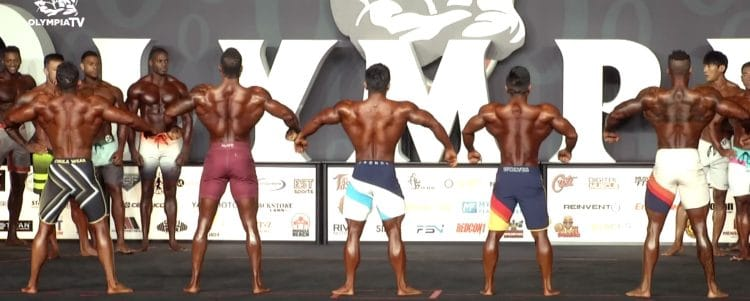 Mens Physique Olympia 4th Callout