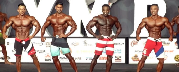 Mens Physique Olympia 6th Callout