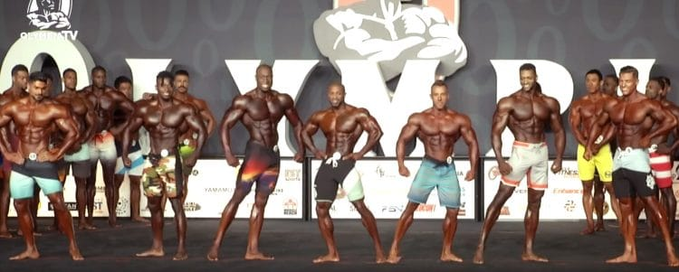 Mens Physique Olympia 7th Callout