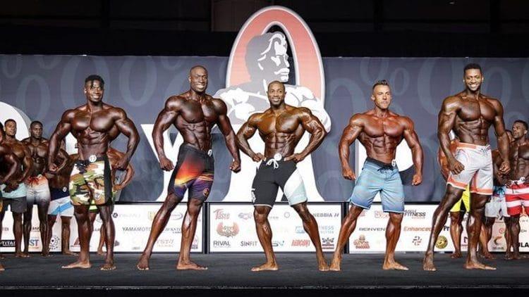Men's Physique Olympia Prejudging