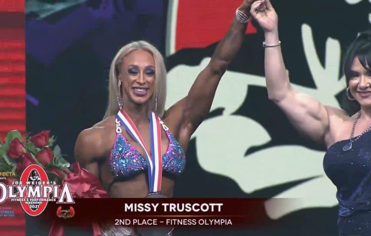 Missy Truscott Fitness Olympia 2021