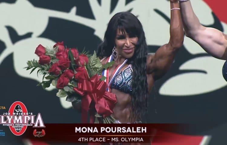 Mona Poursaleh Ms. Olympia
