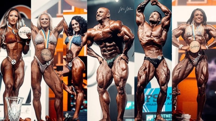 Mr. Olympia 2021 Results For All Divisions
