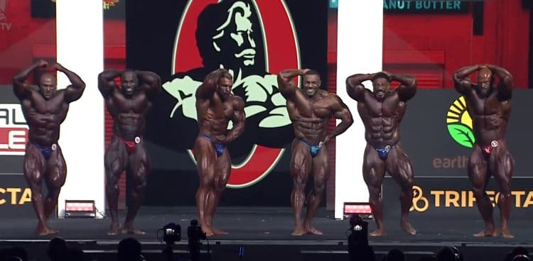 Mr. Olympia Open Bodybuilding 2nd Callout