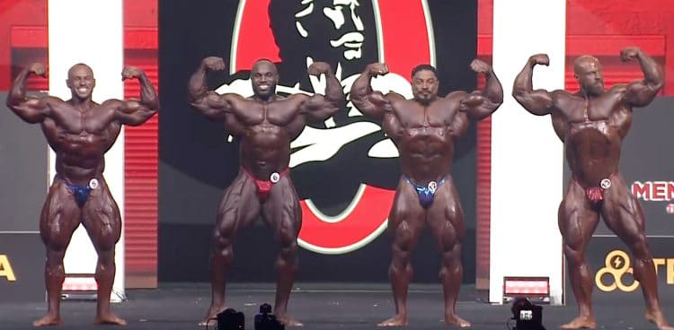 Mr. Olympia Open Bodybuilding 4th Callout