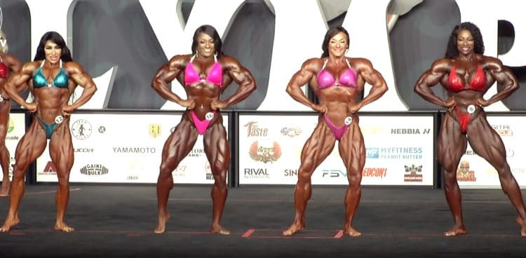 Ms. Olympia 1st Callout