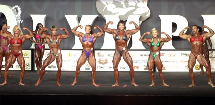 Ms. Olympia 2nd Callout