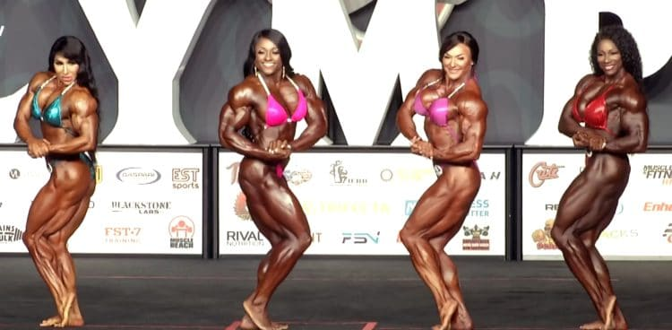 Ms. Olympia Top 4