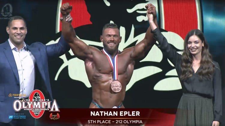 Nathan Epler 212 Olympia 2021