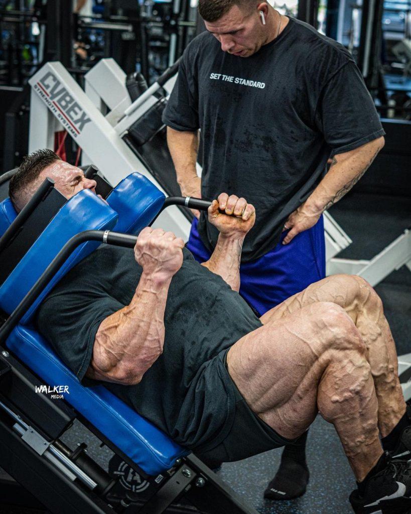 Nick Walker Leg Workout