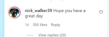 Nick Walker Responds Robby