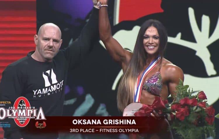 Oksana Grishina Fitness Olympia 2021