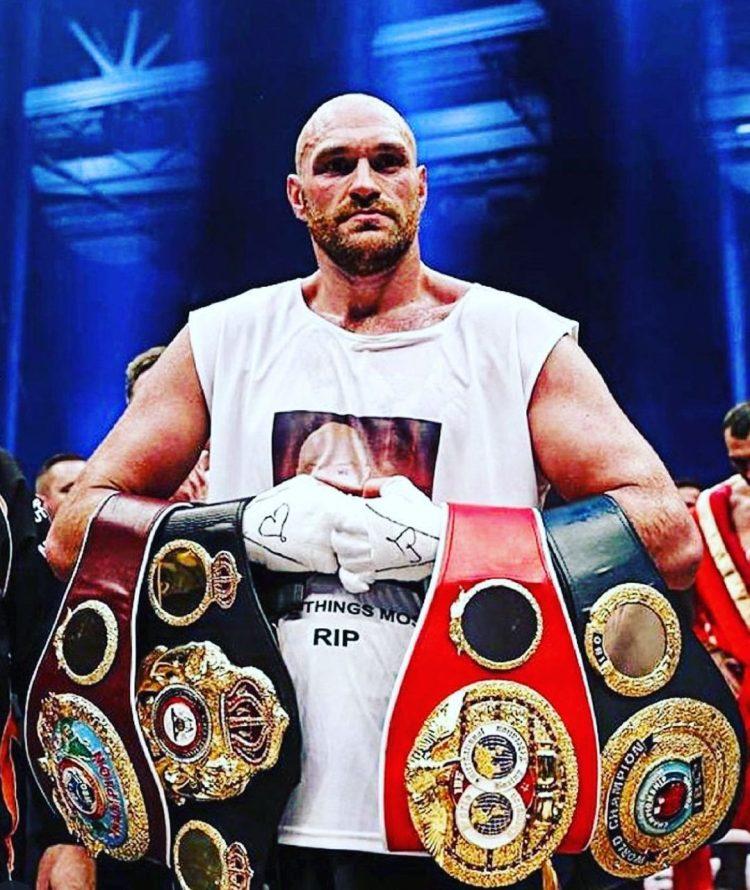 Tyson's Fury Box Record