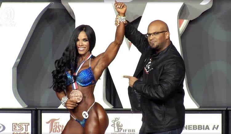Wellness Olympia 4th Place