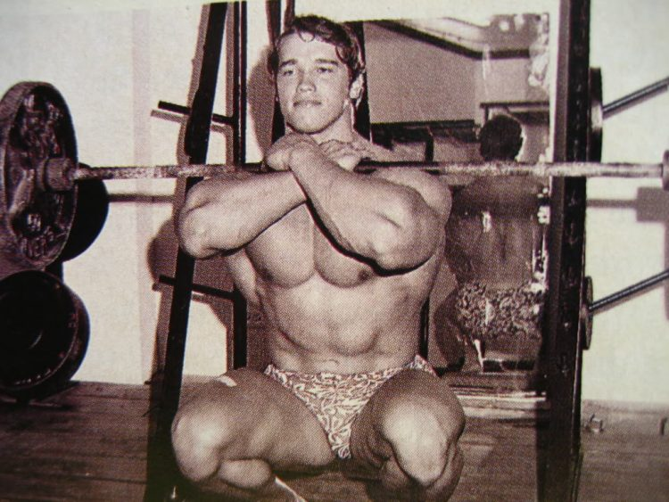 Arnold Front Squat